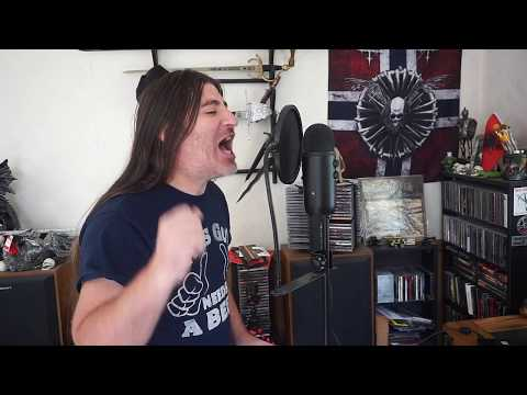 "Iron Maiden "" Powerslave ""  ( vocal cover )"