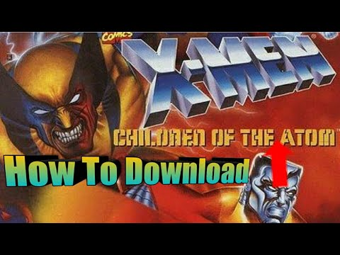How To Download u0022X-men Children Of The Atomu0022 For Mame4droid