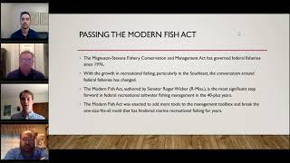 The Modern Fish Act: What Progress Has Been Made 1.5 Years After Enactment?