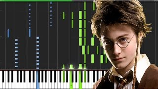 Harry Potter Medley for Solo Piano Tutorial