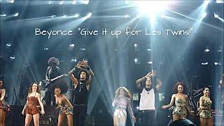 "LES TWINS | Beyonce: ""Give it up for LesTwins!"" | Mrs. Carter Show! Part 1"