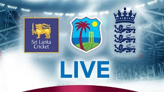 🔴LIVE West Indies U19s vs Sri Lanka U19s | Tri-Nation Under-19 Tournament