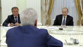 Владимир Путин обсудил с лидерами парламентских фракций итоги работы Госдумы шестого созыва.