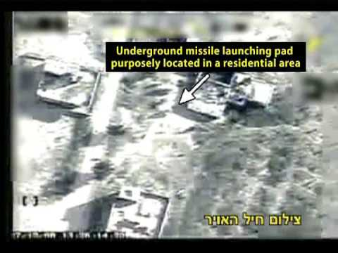 Israeli Air Force Strikes Rocket Launcher