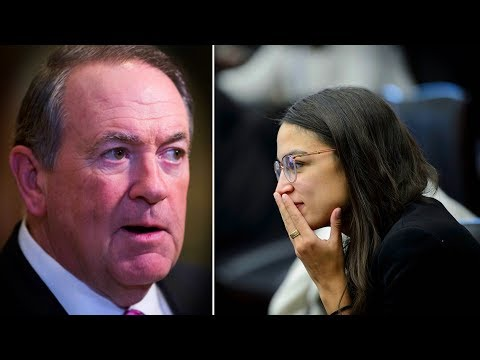 Alexandria Ocasio-Cortez Hilariously Drags Mike Huckabee on Twitter