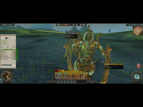 Total War Warhammer 2 Online Battle PT/BR #01 Necrosphinx Vs Arachnarok