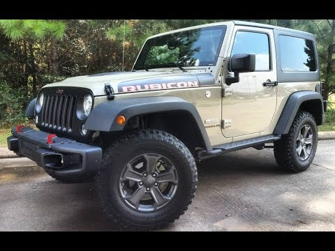 2017 Jeep Wrangler Rubicon Recon Review The Legend Lives On