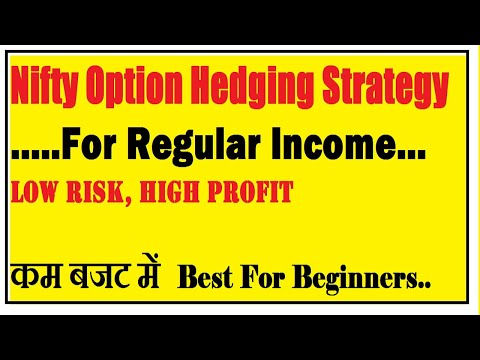 Nifty Option trading strategy | nifty option hedging strategies | option strategy for monthly income