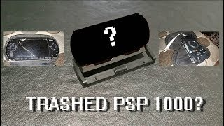 TRASHED PSP 1000 Repair and Upgrade