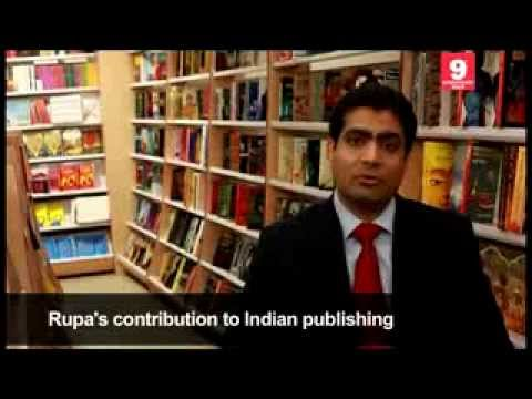 Kapish Mehra on Rupa's contribution to Indian Publishing.