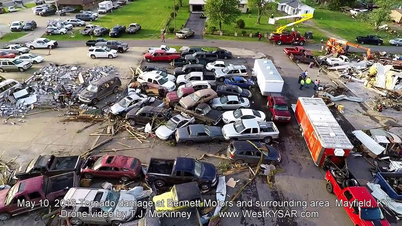Bennett Motors after May 10, 2016 Tornado - Mayfield, KY ...