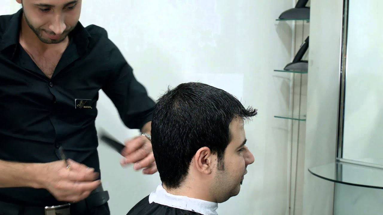 Modern Men Haircut  Styling by Hush Gents Salon  YouTube