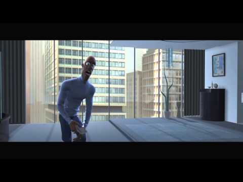 Pixar: The Incredibles - movie clip - Where's My Super Suit? (HD 720p)