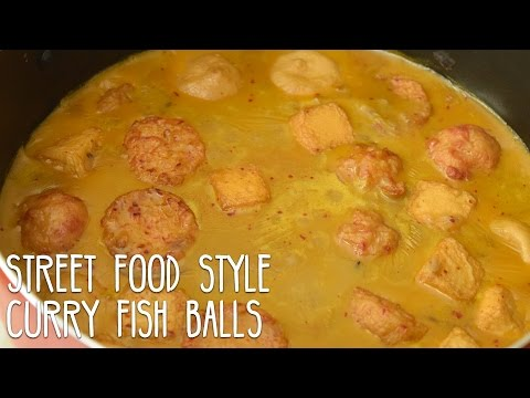 Street Food Style Curry Fish Balls | Rapsa!