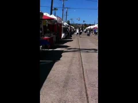 Pacific Beach Streets and Farmers Market, San Diego CA 92109