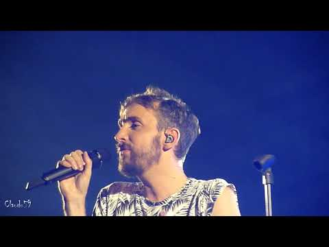 Christophe Willem - Falling - Lille 29 03 2018 Rio Tour