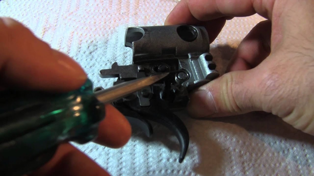 Gamo Whisper Trigger replacement with Charlie da Tuna GRT-4G Trigger