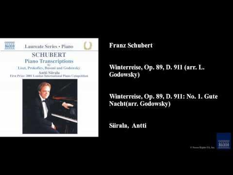 Franz Schubert, Winterreise, Op. 89, D. 911 (arr. L. Godowsky)