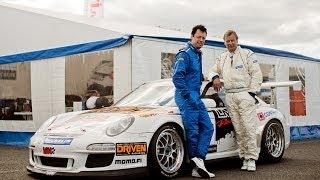 Markku Alén & Porsche 911 GT3  (Teknavi)