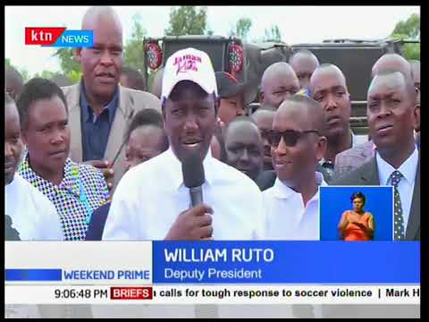 Dp Ruto remembers his chicken roots where he started his life as a chicken seller