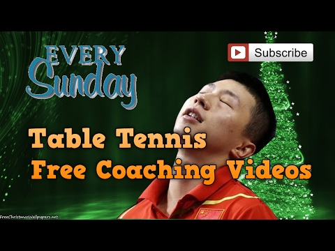 """Table Tennis Coaching Videos For Beginners """"The 1st Ping Sunday"""""""