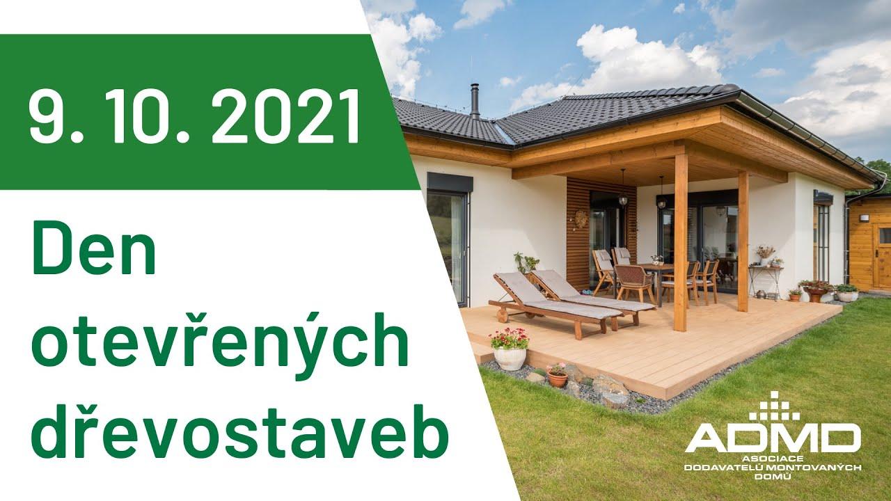 Den otevřených dřevostaveb zpřístupní 60 domů po celé ČR