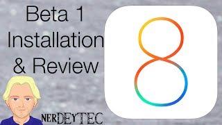 iOS 8 Download, Installation, Review [deutsch/german]