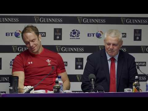Press Conference: Warren Gatland and Alun Wyn Jones after Scotland v Wales | Guinness Six Nations