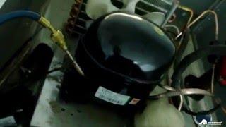 Тоңазытқыштарды жөндеу Polair CB107-S. Ауыстыру компрессор Aspera.