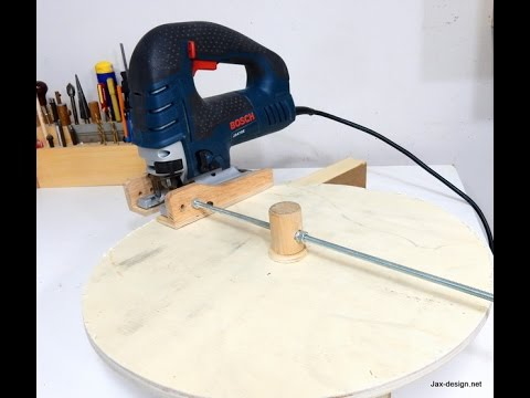 Jigsaw Circle Cutting  Jig