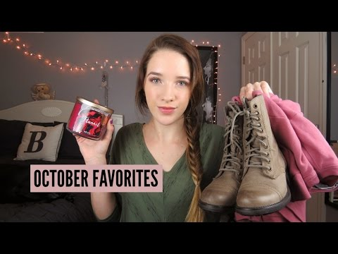 OCTOBER FAVORITES 2016!