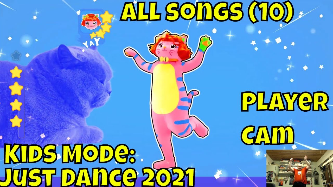 Just Dance 2021 Kids Mode All Songs 10 Player Cam Nintendo Switch Youtube