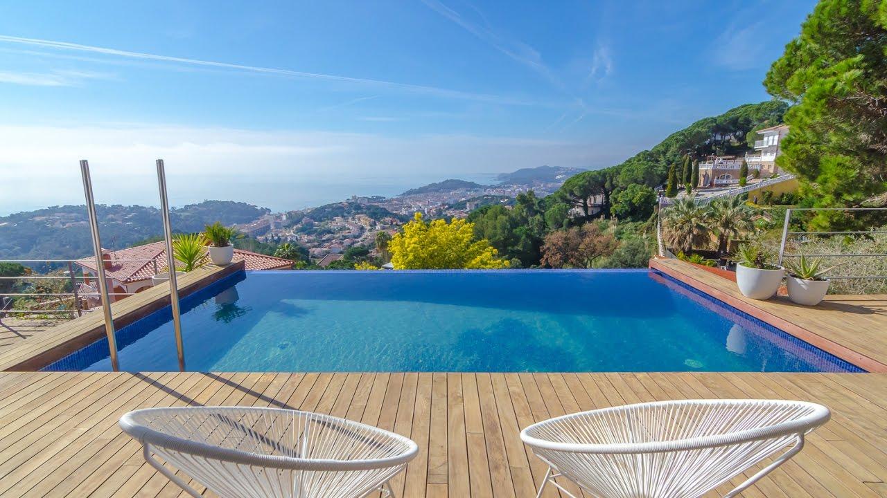 superbe villa avec piscine d bordement avec beaucoup de commodit s youtube