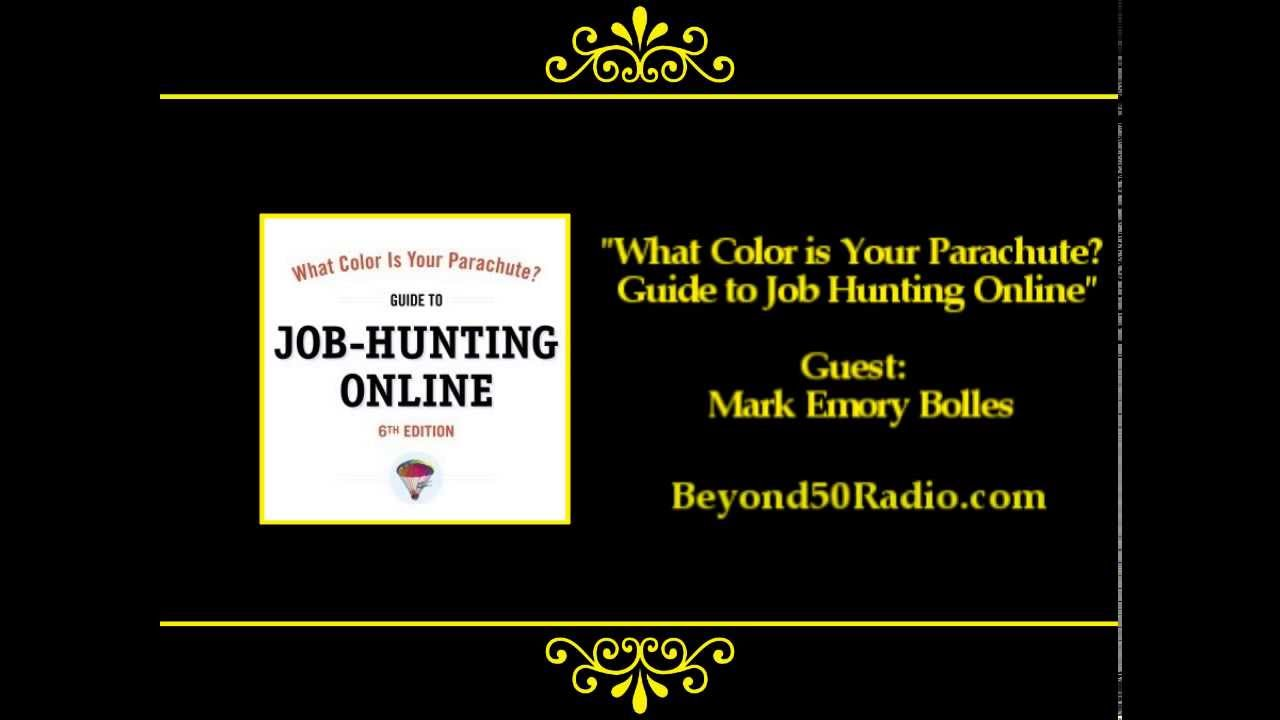 What Color is Your Parachute Guide to Job Hunting Online YouTube