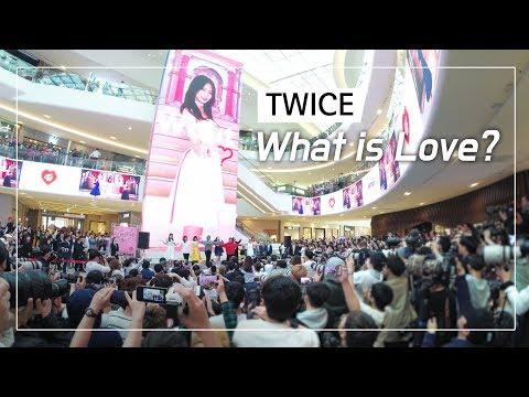 트와이스 TWICE : 왓이즈러브 What is love? 역대급 떼창 Greate Fanchant : Wide Fancam : 팬싸인회 : 고양 스타필드