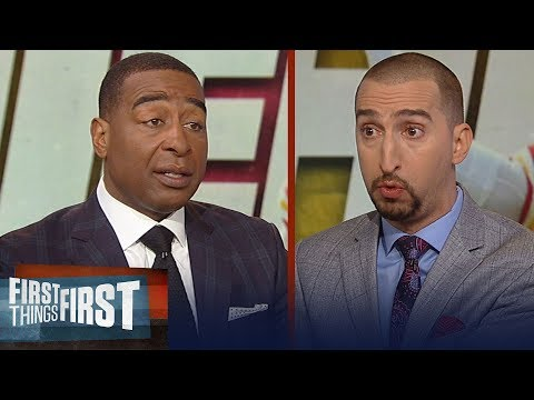 Cris and Nick on the Patriots' loss in Miami, talk Patrick Mahomes | NFL | FIRST THINGS FIRST