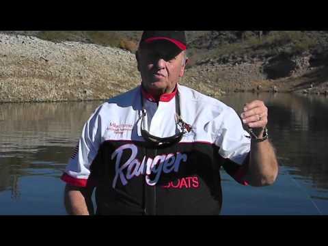 Pro Arizona Fishing Guide, Mike Strole, - Spoon Fishing Tips For Bass & Striper Lake Pleasant