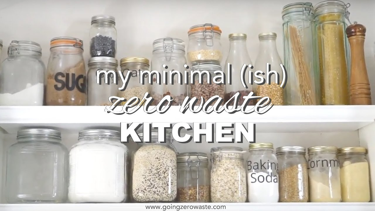 Minimal Zero Waste Kitchen Tour