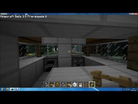 minecraft moderne k che youtube. Black Bedroom Furniture Sets. Home Design Ideas