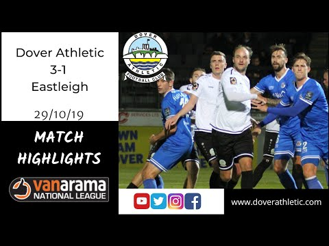 Highlights: Dover Athletic 3-1 Eastleigh FC