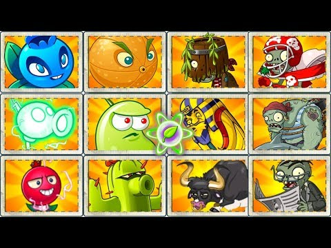 Plants vs Zombies 2 Gameplay Very Hard Zombies vs Electric and Other OP Plants Power UP in PVZ 2