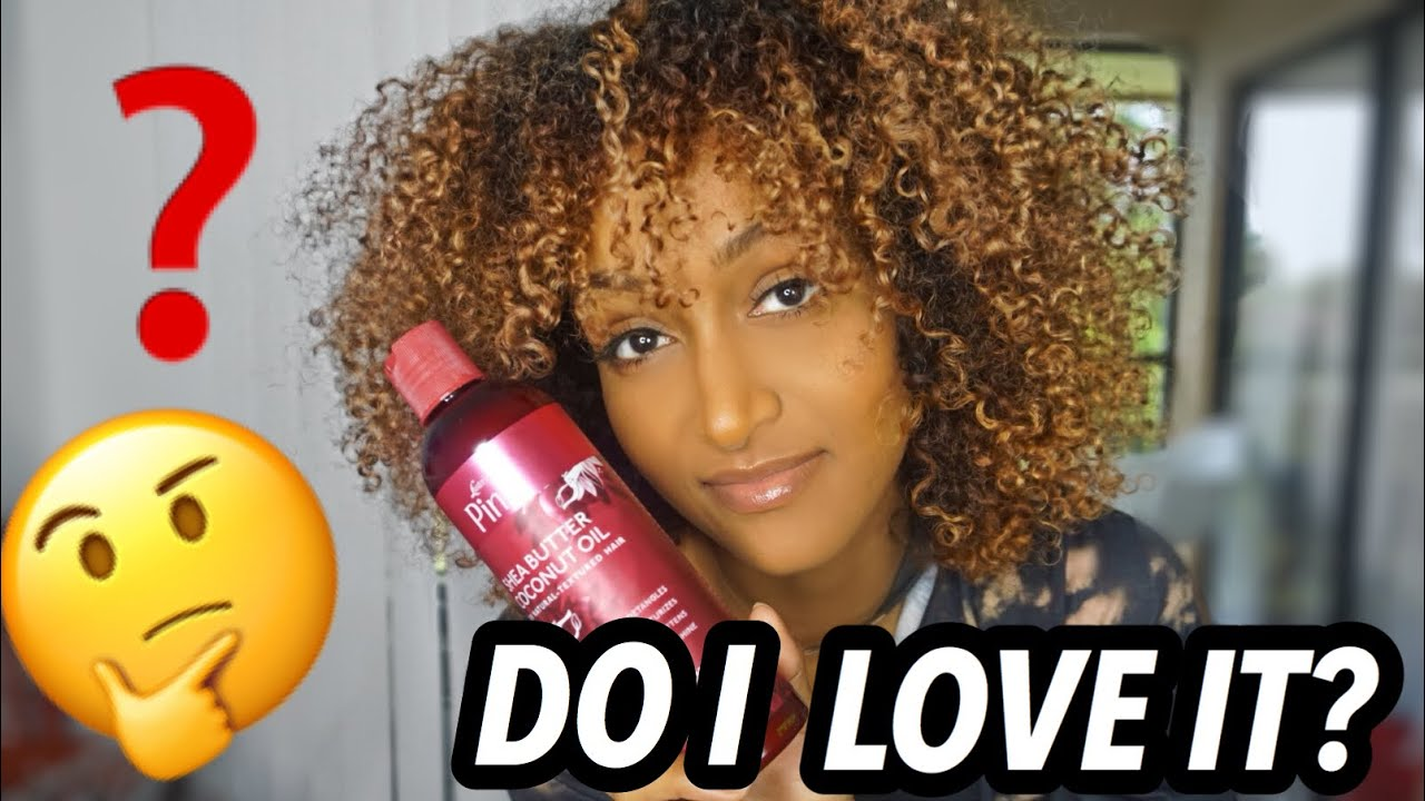 NEW Luster's Pink Coconut Oil Shea Butter Review