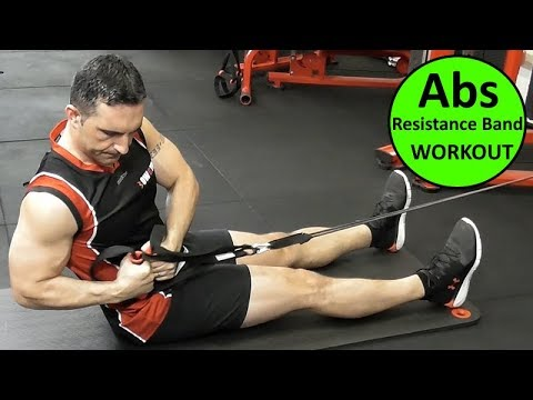 resistance band abs workouts with coach ali  youtube