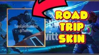 NEW ROAD TRIP SKIN LEAKED IN FORTNITE!