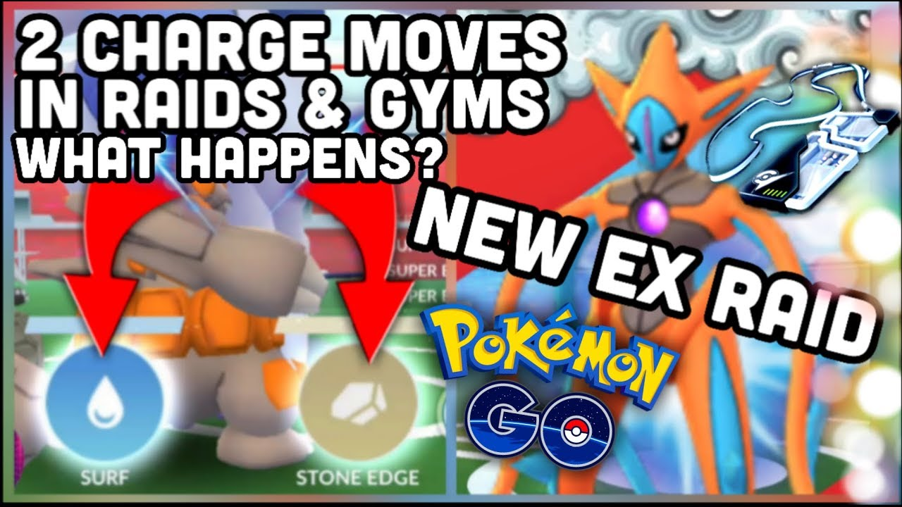 NEW DEOXYS ATTACK FORM EX RAID YOU CAN SOLO IN POKEMON GO | 2 CHARGE MOVES  IN GYMS WHAT WILL HAPPEN?
