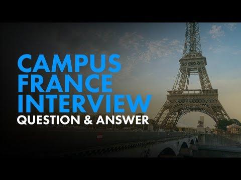 Campus France Interview - Video by Edugo Abroad