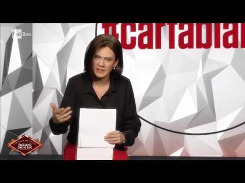 Virginia Raffaele  è Bianca Berlinguer - 2^ parte - Facciamo che io ero 18/05/2017