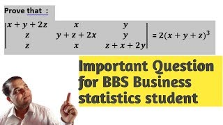 Business Statistics important Question for BBS student |Also useful 4 class 11,12(NEB)