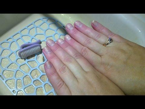 Простой способ очистки рук и ногтей