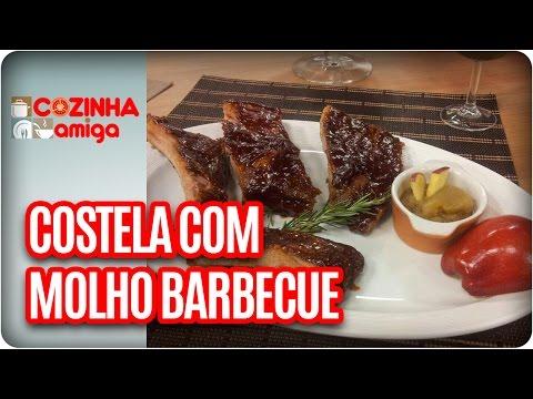 Costeletas Ao Molho Barbecue Com Purê De Maçã  - Chef Arthur Sauer | Cozinha Amiga (13/03/17)